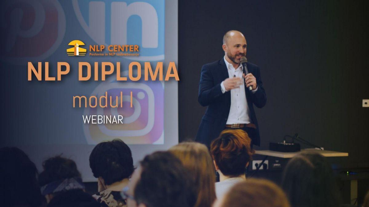 NLP Diploma preko spleta, <strong>modul I</strong>